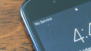 رفع مشکل پرش آنتن آیفون | پریدن آنتن موبایل اپل | No Service