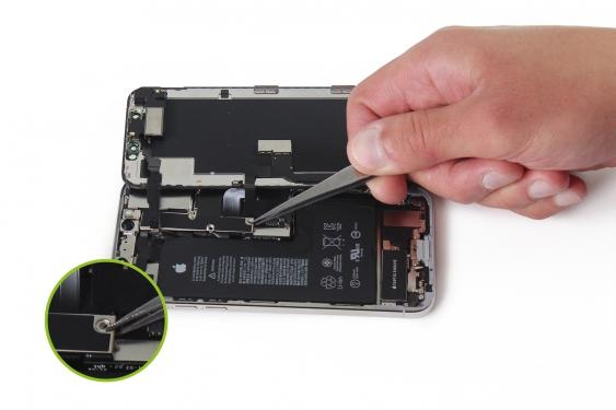 برداشتن براکت کانکتور LCD آیفون