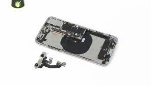 آموزش تعویض دوربین جلو آیفون XS اپل