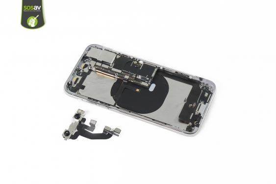 تعمیرات اپل: آموزش تعویض دوربین جلو iPhone XS