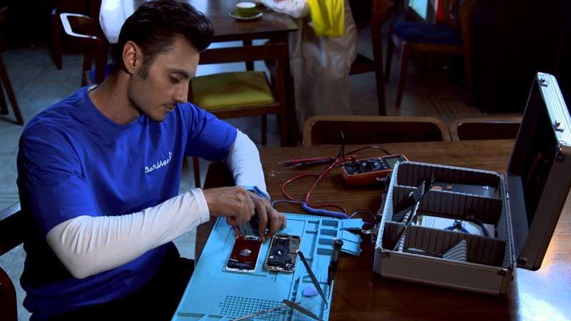 تعمیر باتری آیفون 11 پرو مکس با قیمت ارزان   نمایندگی اپل