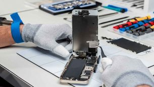 تعمیر میکروفون موبایل آیفون