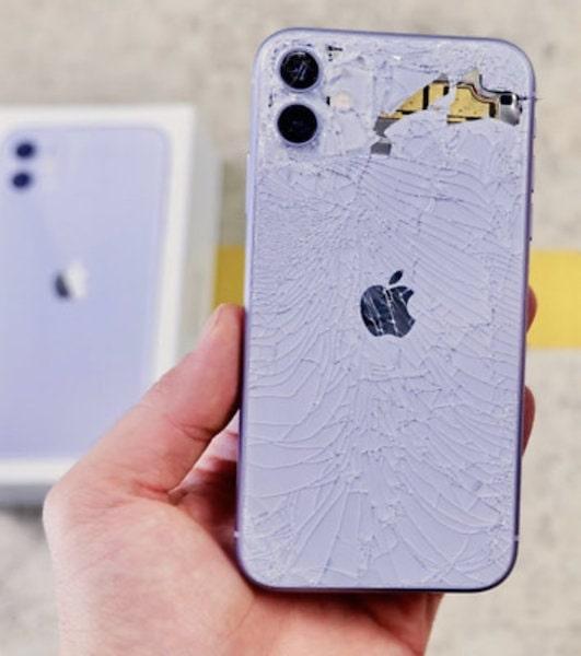 تعویض قاب پشت iphone 11 | گارانتی اپل