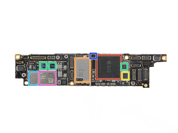 راهنمای تعمیر برد آیفون ایکس آر اپل