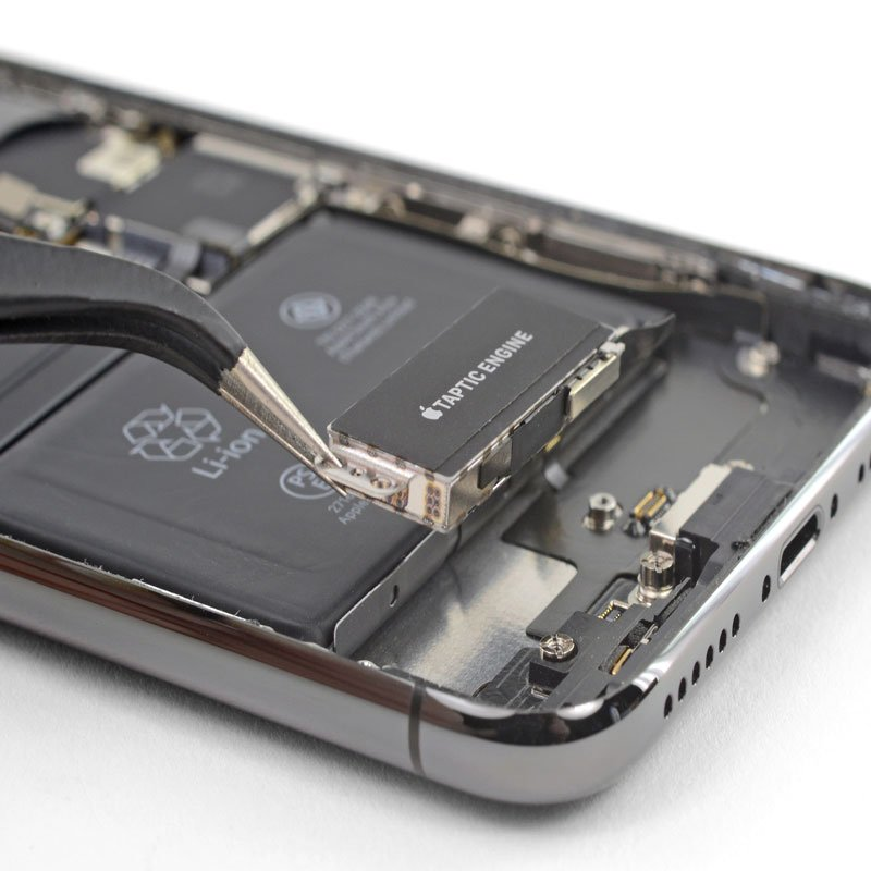 تعمیر یا تعویض موتور ویبره آیفون XS Max | گارانتی اپل