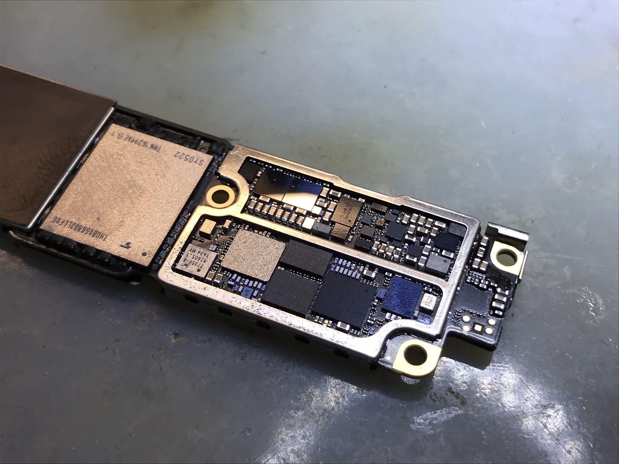 تعمیرات هارد موبایل آیفون تعویض هارد آیفون