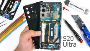 تعویض گلس یا شیشه ال سی دی S20 Ultra سامسونگ | موبایل کمک