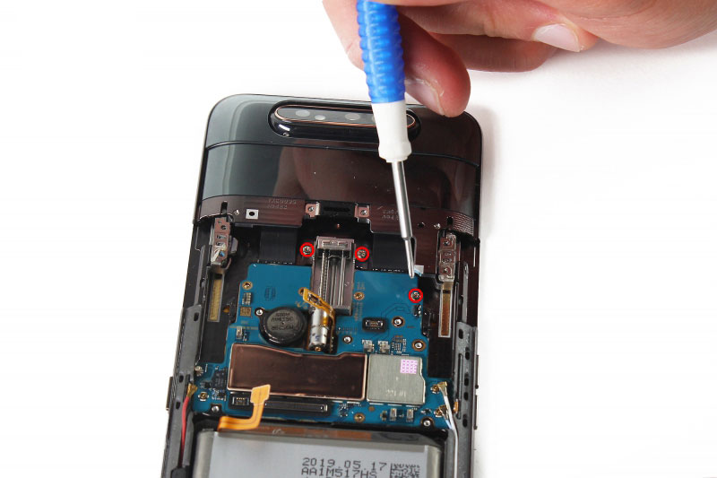 جدا کردن قالب دوربین