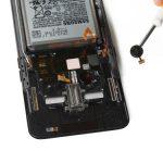 جداسازی موتور ویبره برای تعویض ال سی دی Galaxy A80