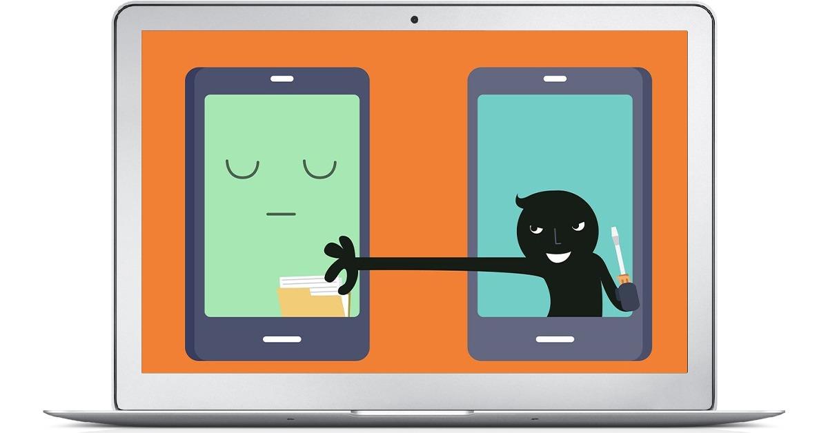 سرقت اطلاعات موبایل