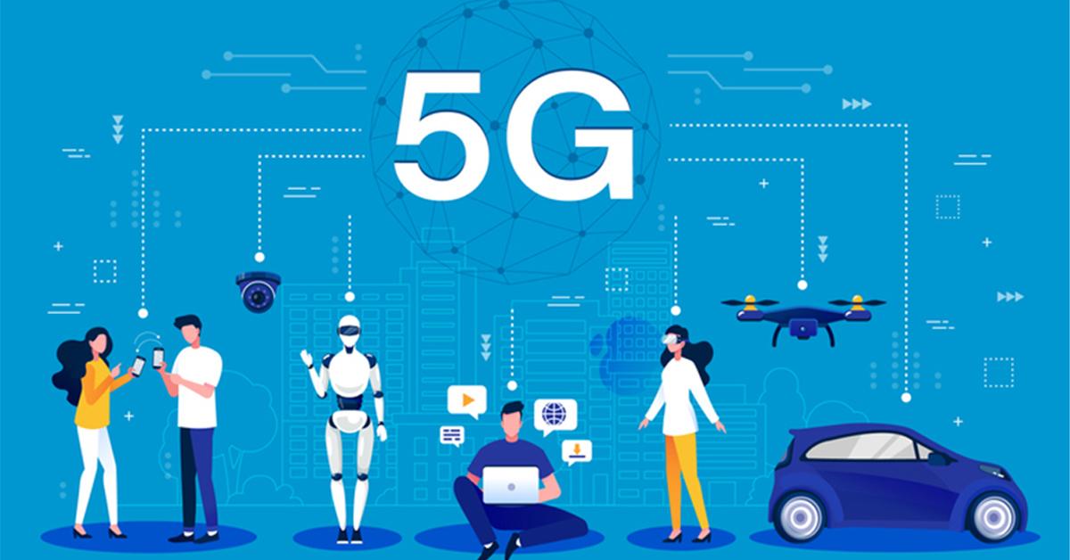 مقایسه اینترنت 4g و 5g