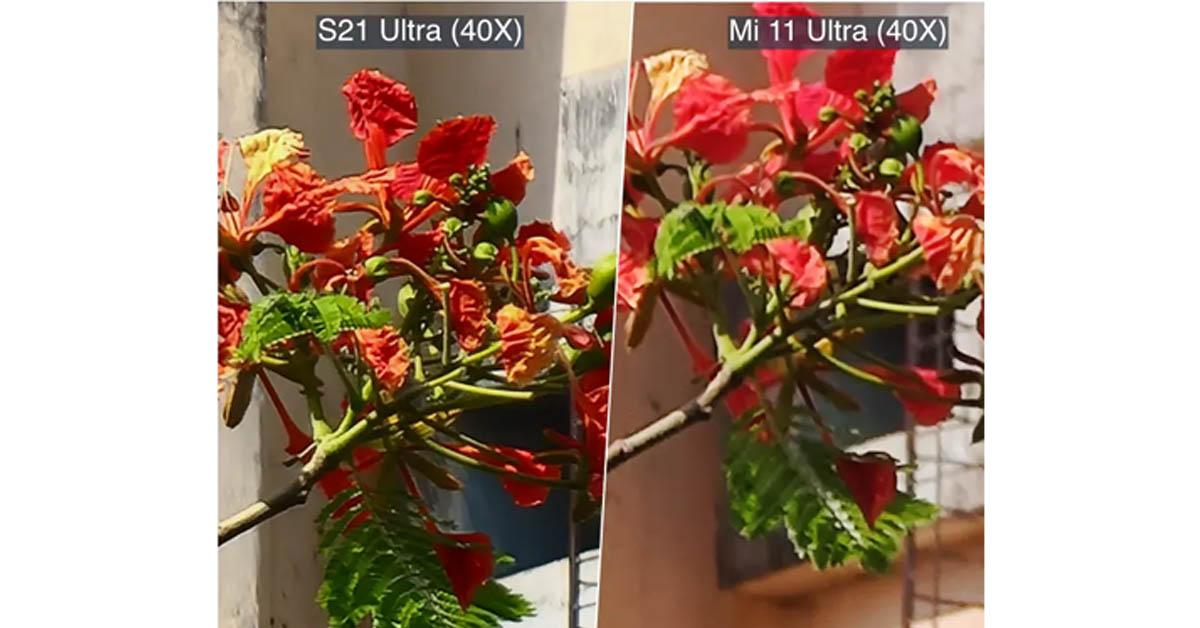 مقایسه دوربین شیائومی و سامسونگ