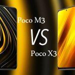 مقایسهٔ گوشی پوکو X3 و پوکو M3