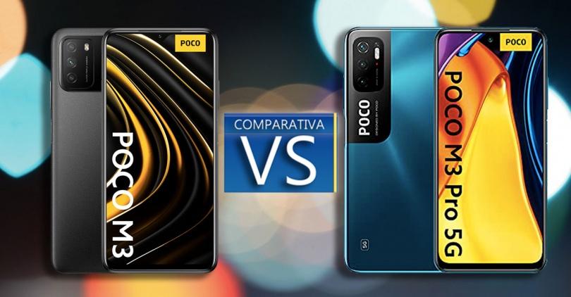 مقایسه دو گوشی M3 و M3 Pro 5G از کمپانی پوکو