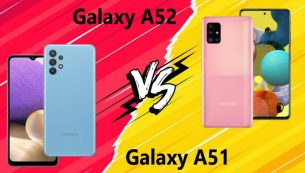 مقایسهٔ گوشی Galaxy A52 و Galaxy A51