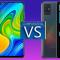 مقایسۀ Redmi Note 9 و A51