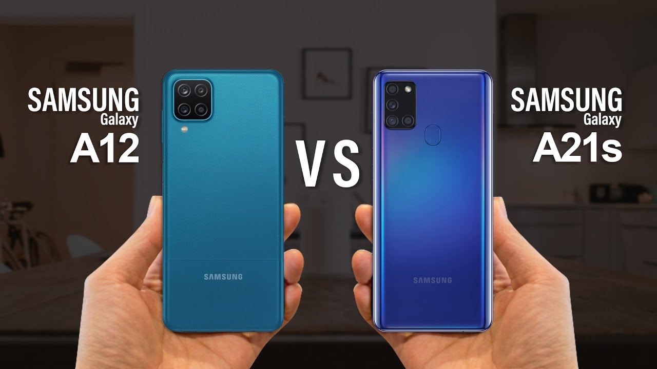 مقایسۀ گوشی Galexy A12 با گوشی Galaxy A21s