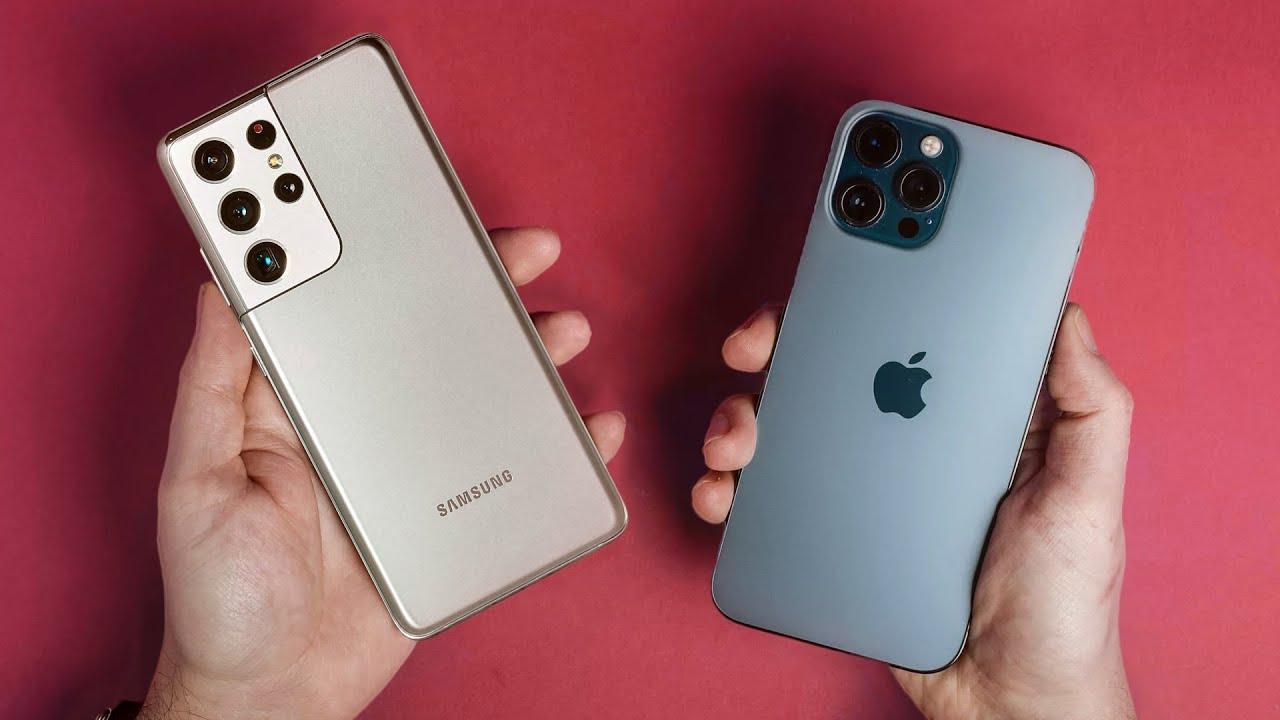 مقایسه Apple iPhone 12 Pro Max و Galaxy S21 Ultra 5G