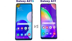 مقایسه گوشی Galaxy A21s با Galaxy A31
