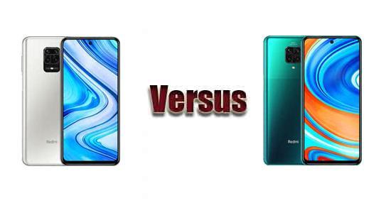 مقایسهٔ Redmi Note 9 Pro و Redmi Note 9 Pro Max