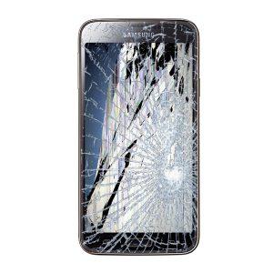 گلس سامسونگ S5 + اجرت تعویض