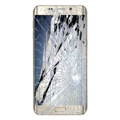 گلس سامسونگ S6 Edge Plus + اجرت تعویض